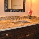 Highland Park Bathroom Countertop1