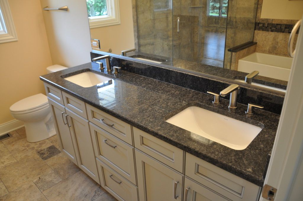 Largest selection of kitchen granite countertops in chicago for Bathroom countertops