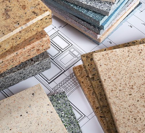 Design Your Kitchen Granite Selection