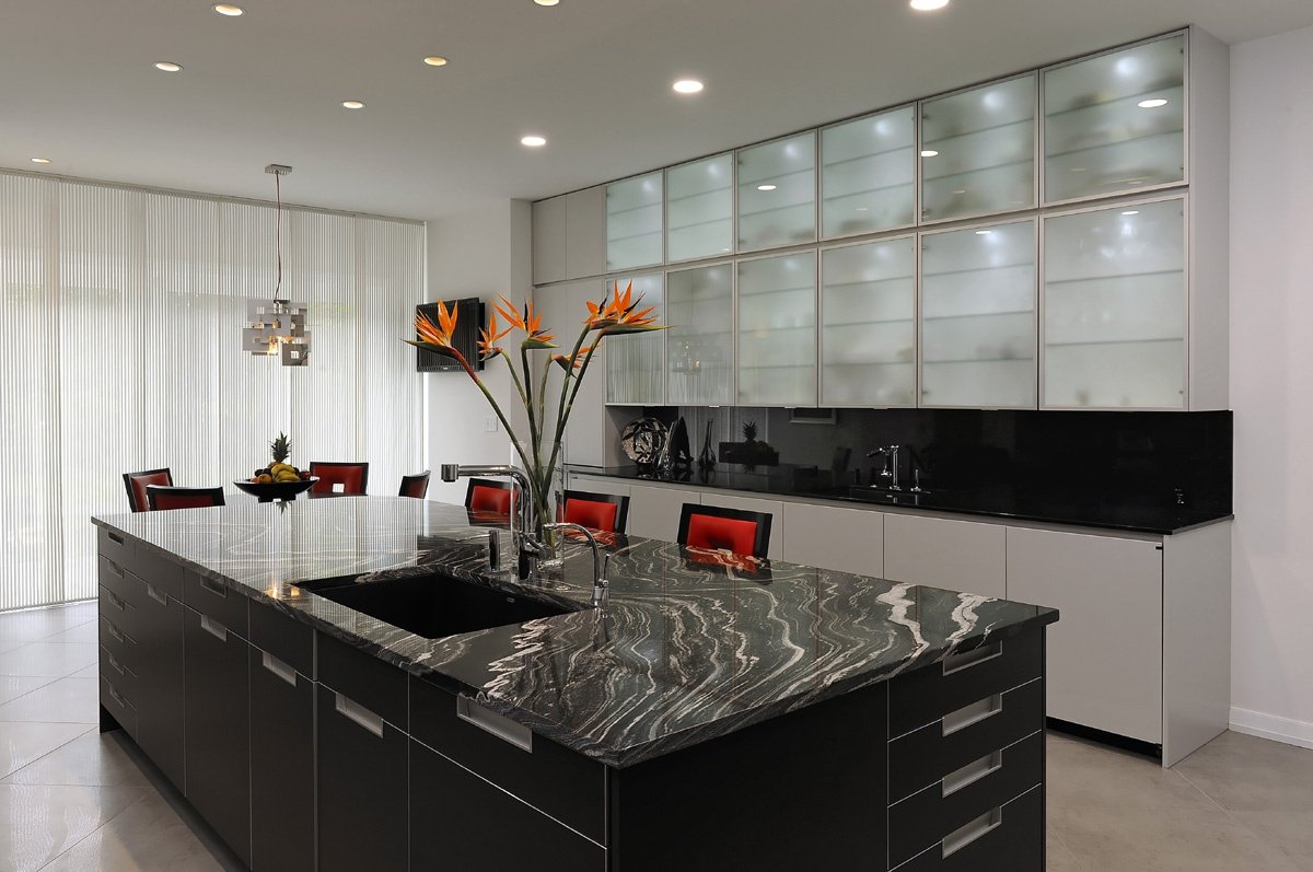 How To Choose The Right Granite Countertop Go With Your Kitchen Cabinets Select Matching Cabinet