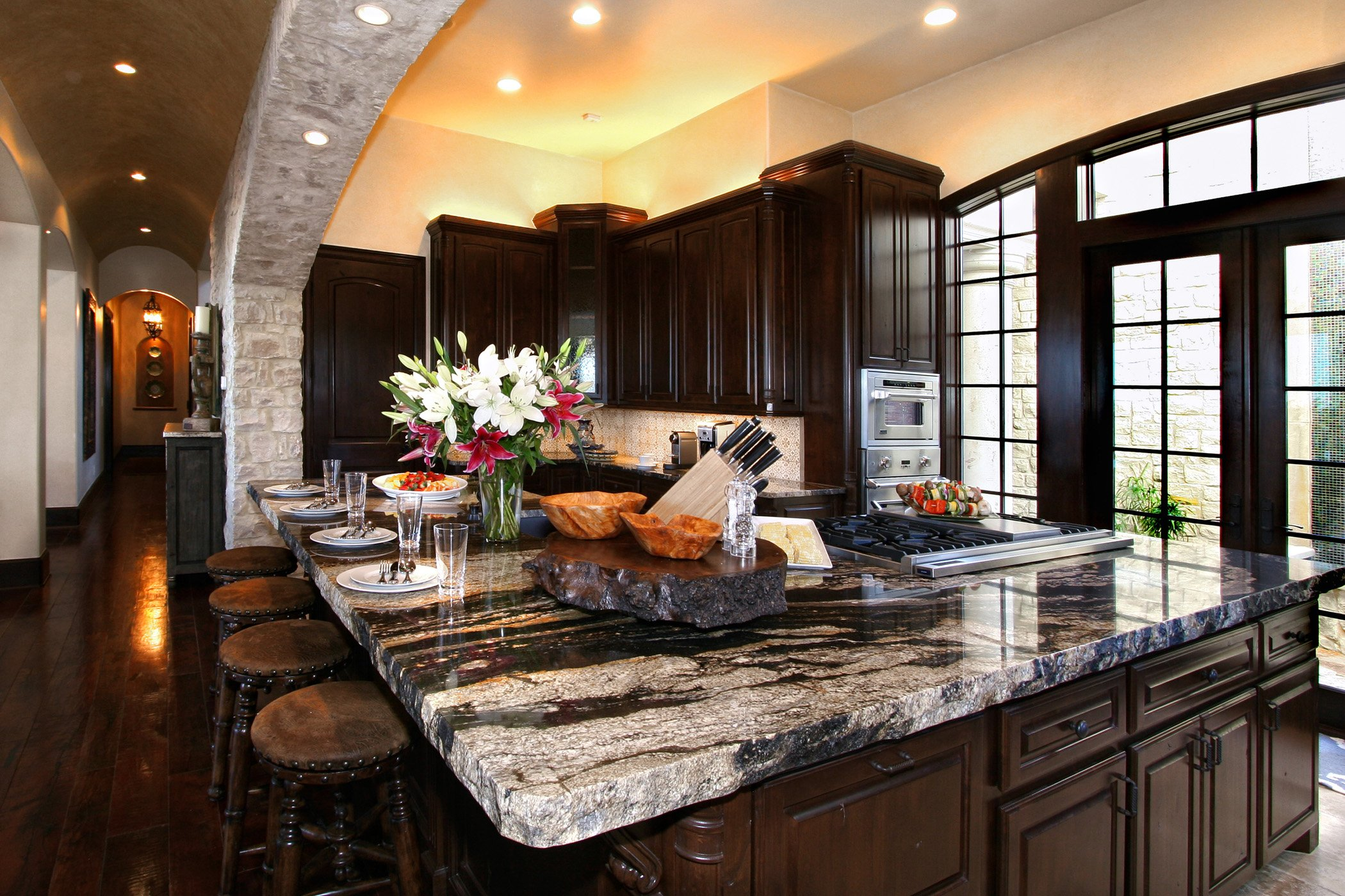 5 Ideas For Granite Kitchen Island Design Granite Selection