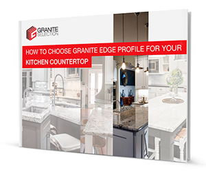 How to select a granite edge profile for your kitchen countertop