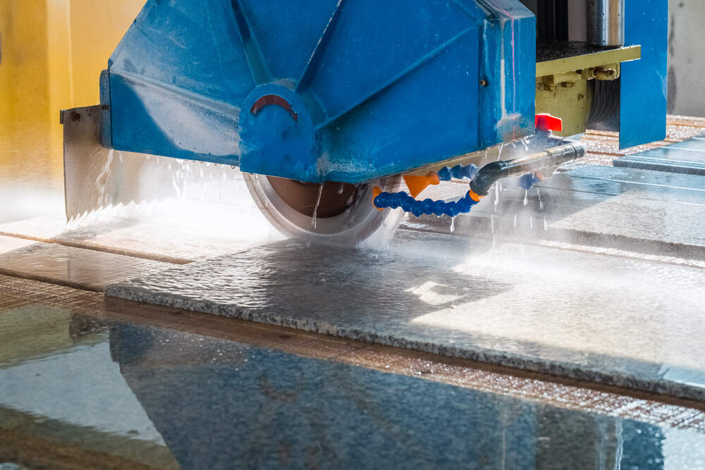 CNC machine stone