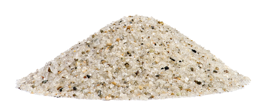 ground quartz sand