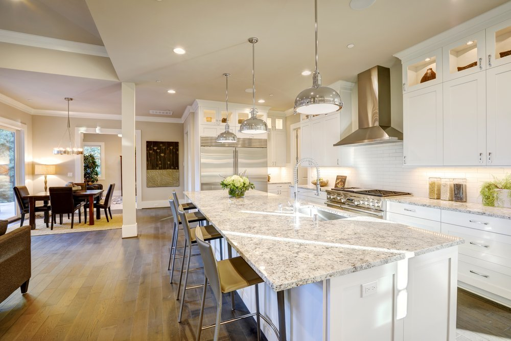 quartz countertop versus granite countertop