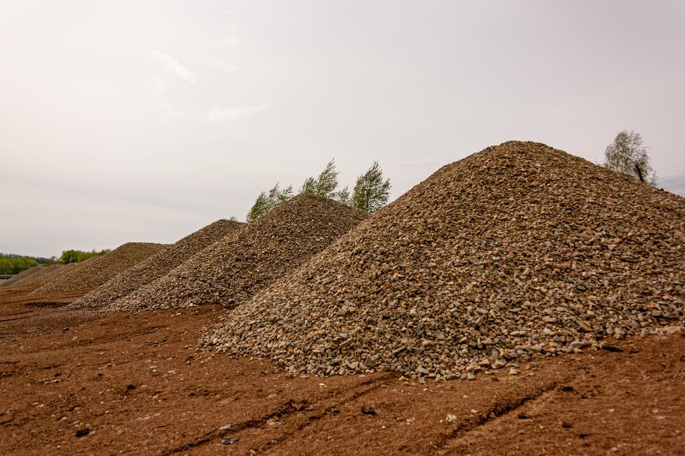 granite dust for construction