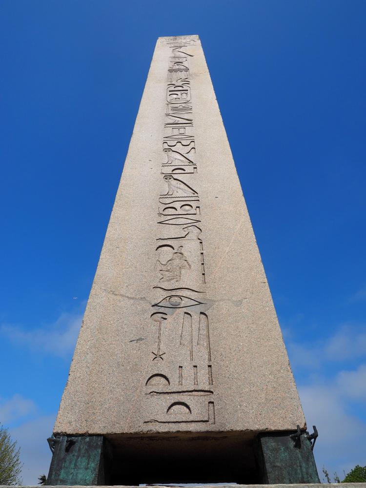 granite obelisk
