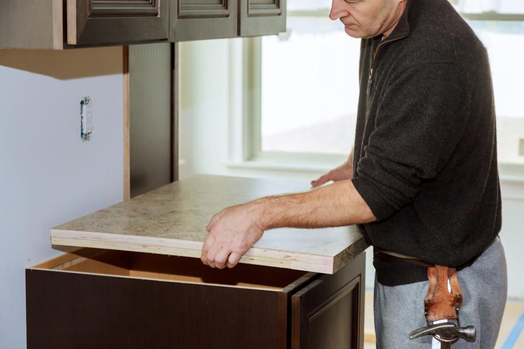 install laminate countertops kitchen