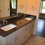 Highland Park Bathroom Countertop