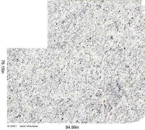 White Dallas remnants in Chicago | Granite Selection
