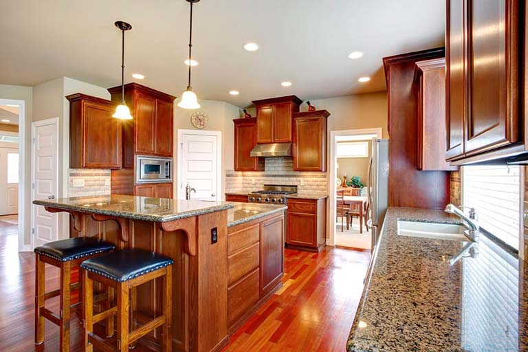Quartz Countertops Colors That Go Best With Oak Cabinets Granite Selection